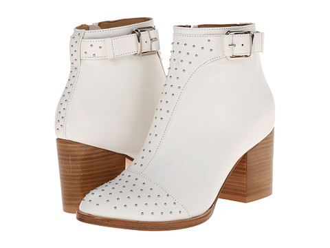 THAKOON ADDITION - Magdalena 3 (White Nappa Studs) Women's Boots