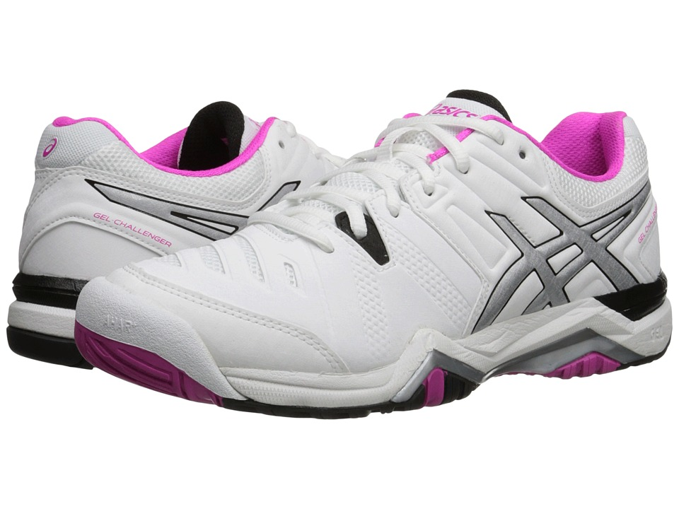 ASICS GEL-Challenger 10 (White/Pink Glo/Black) Women