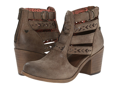Roxy - Lena (Brown) Women's Zip Boots