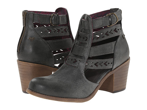 Roxy - Lena (Black) Women's Zip Boots