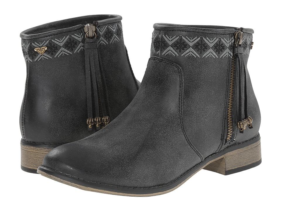 Roxy - Sita (Black) Women's Zip Boots