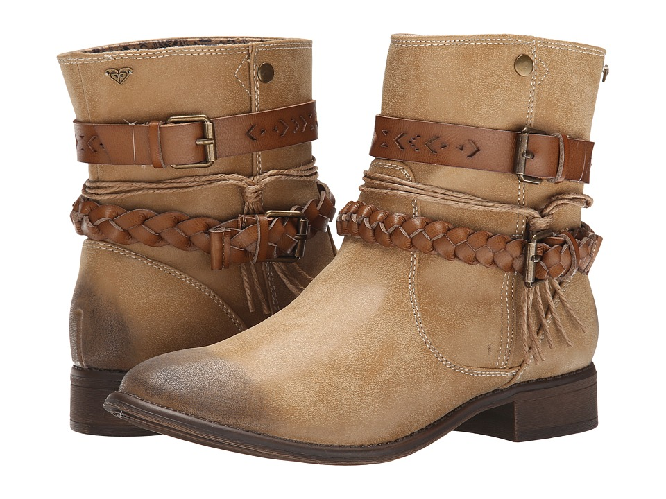 Roxy - Skye (Tan) Women's Pull-on Boots