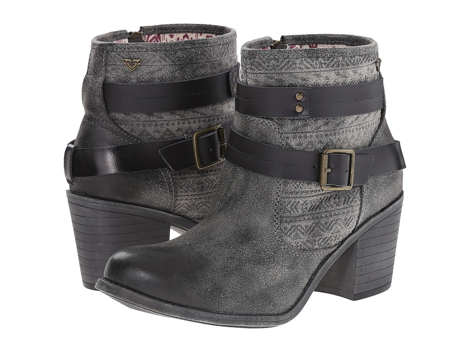 Roxy - Petra (Black) Women's Pull-on Boots