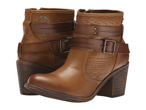 Roxy - Petra (Tan) Women's Pull-on Boots