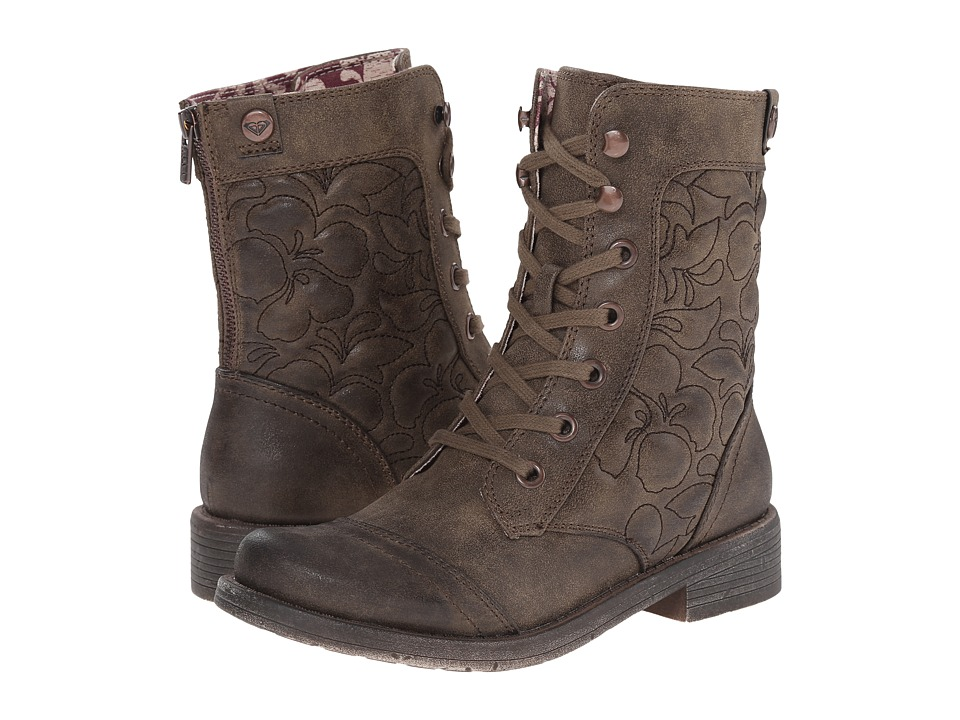 Roxy - Westward (Brown) Women's Lace-up Boots