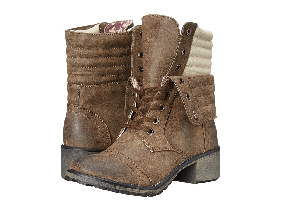 Roxy - Charley (Brown) Women's Lace-up Boots