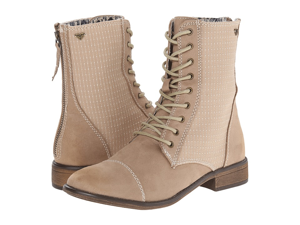 Roxy - Field (Tan) Women's Lace-up Boots