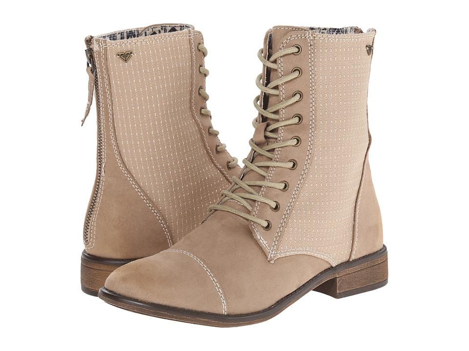 Roxy - Field (Tan) Women's Lace-up Boots
