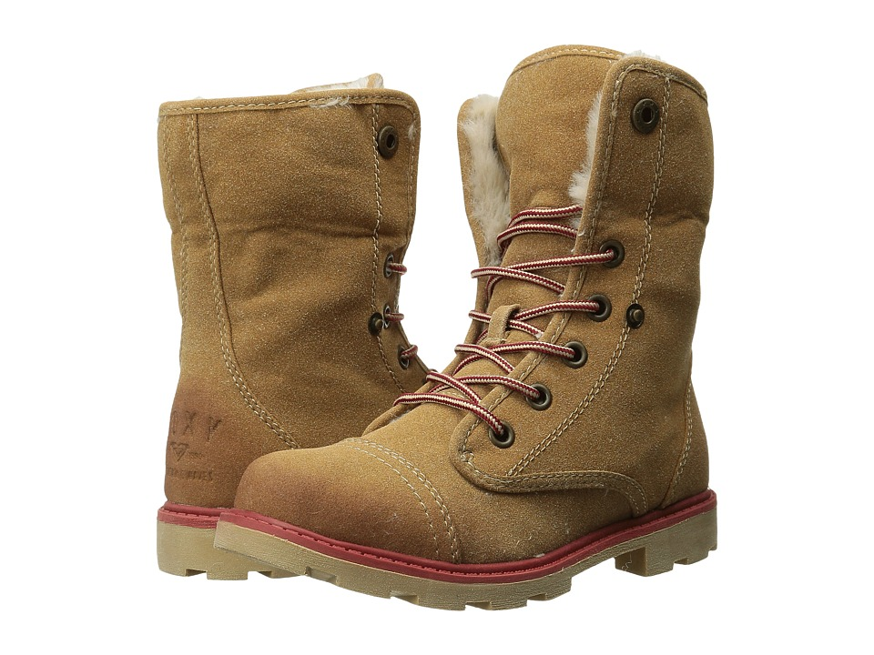 Roxy - Tamarac (Tan) Women's Lace-up Boots