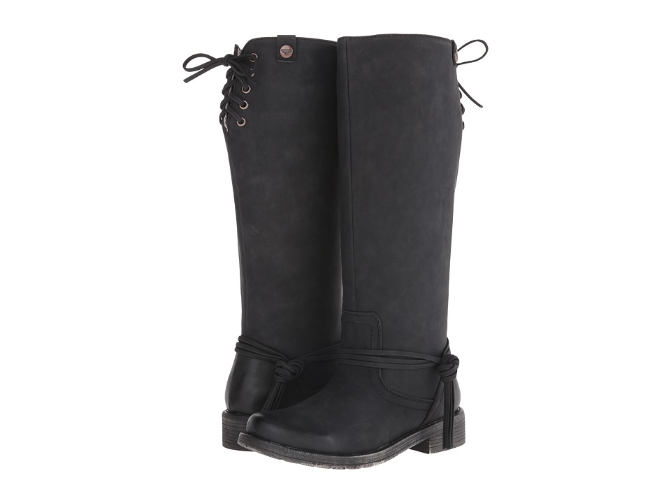 Roxy - Rider (Black) Women's Pull-on Boots