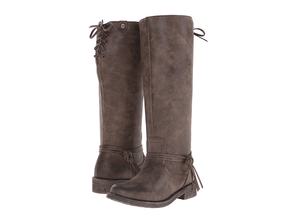 Roxy - Rider (Brown) Women's Pull-on Boots