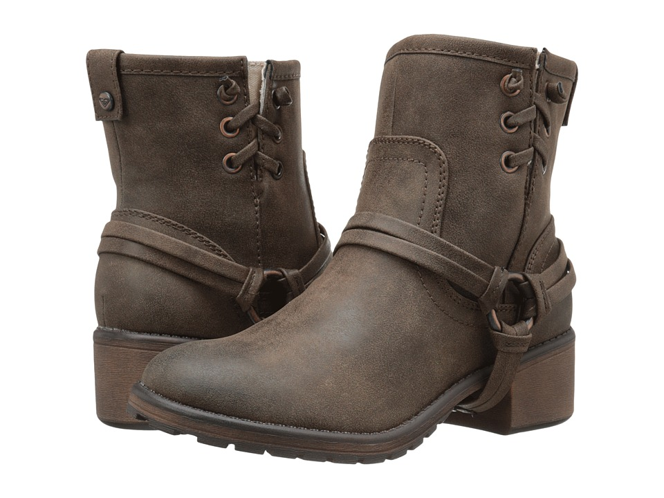 Roxy - Smythe (Brown) Women's Pull-on Boots