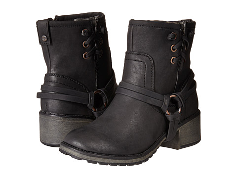 Roxy - Smythe (Black) Women's Pull-on Boots