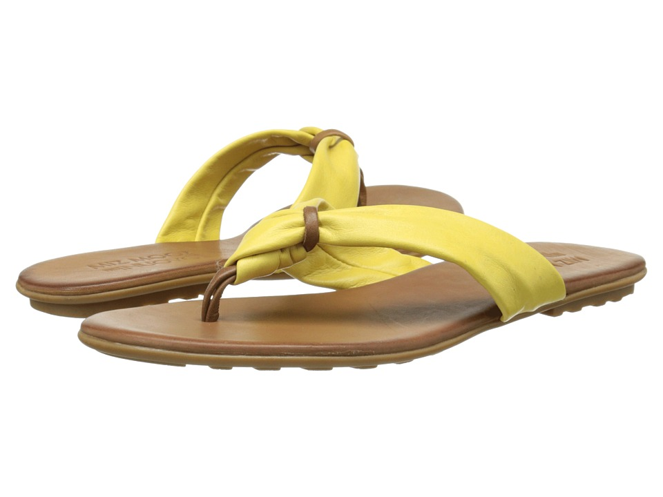 Miz Mooz - Lagoon (Yellow) Women's Sandals