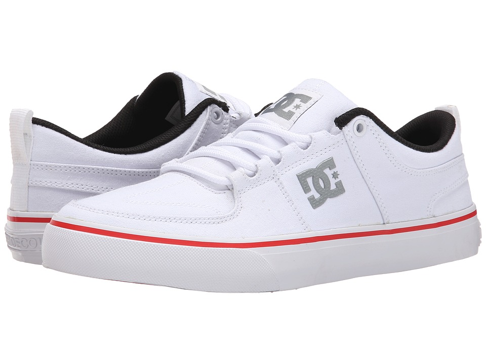 DC - Lynx Vulc TX (White) Skate Shoes
