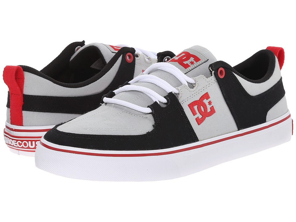 DC - Lynx Vulc TX (Grey/Red) Skate Shoes