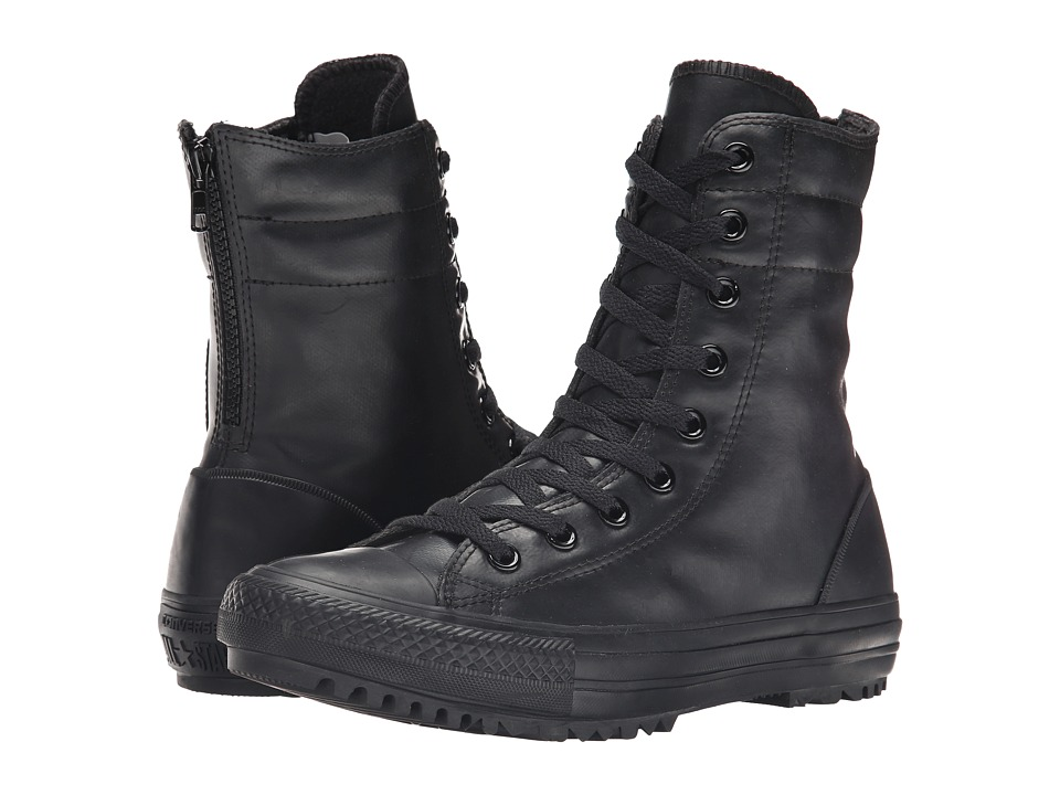 Converse - Chuck Taylor All Star Rubber Hi-Rise Boot X-Hi (Black/Black/Black) Women