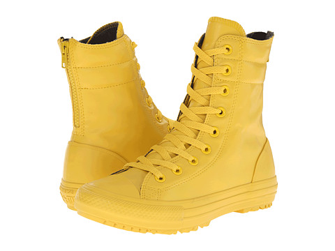 Converse - Chuck Taylor All Star Rubber Hi-Rise Boot X-Hi (Yellow Bird/Yellow Bird/Yellow Bird) Women's Lace up casual Shoes