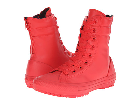 Converse - Chuck Taylor All Star Rubber Hi-Rise Boot X-Hi (Red/Red/Red) Women