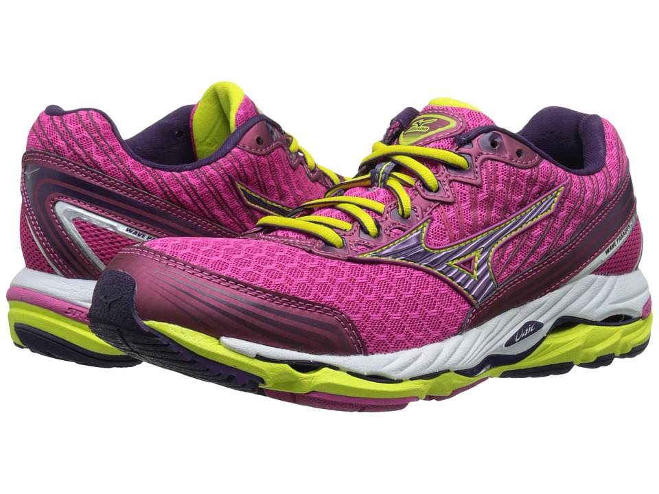 Mizuno - Wave Paradox 2 (Fuchsia Purple/Shadow Purple/Bolt) Women's Running Shoes