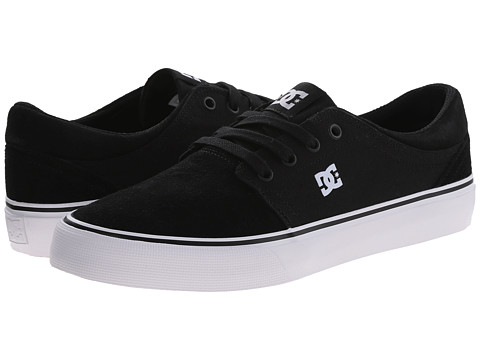 DC - Trase SD (Black/White) Skate Shoes