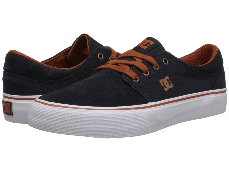 DC - Trase SD (Blue/White/Brown) Skate Shoes