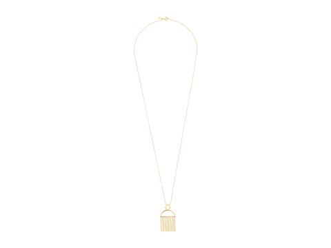 gorjana - Marmont Pendant Necklace (Gold) Necklace