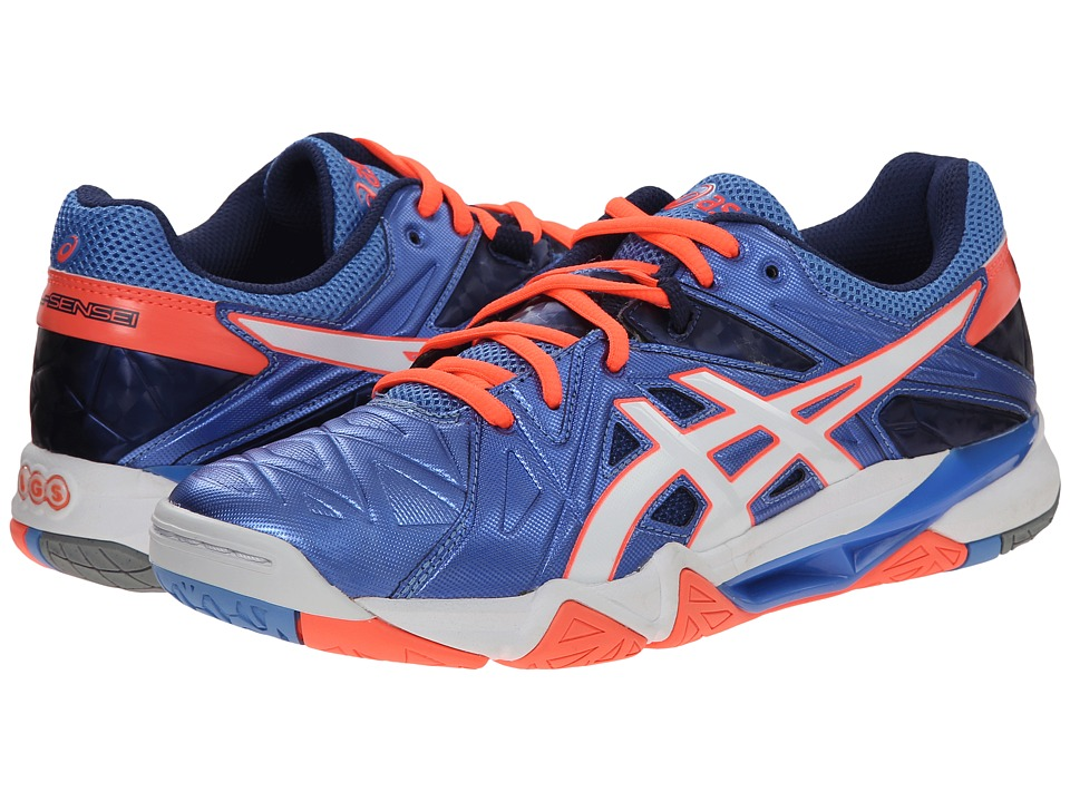 ASICS GEL-Cyber Sensei (Powder Blue/White/Flash Coral) Women