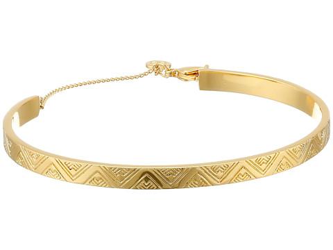 gorjana - Kate Zigzag Etch Cuff Bracelet (Gold) Bracelet