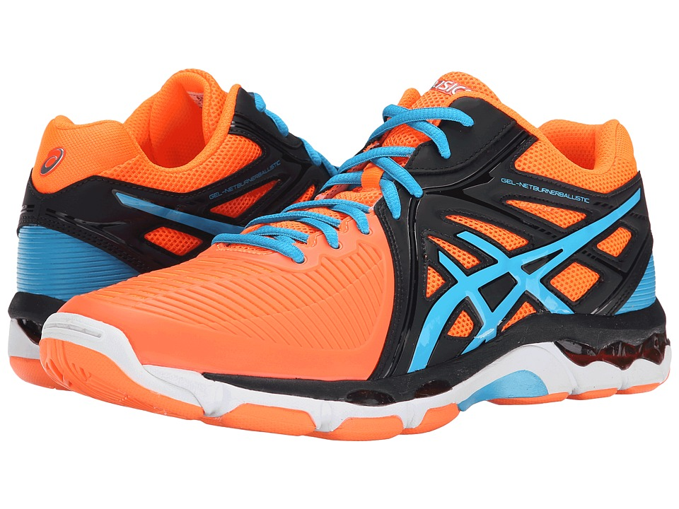 ASICS GEL-Netburner Ballistic MT (Flash Orange/Atomic Blue/Midnight) Men