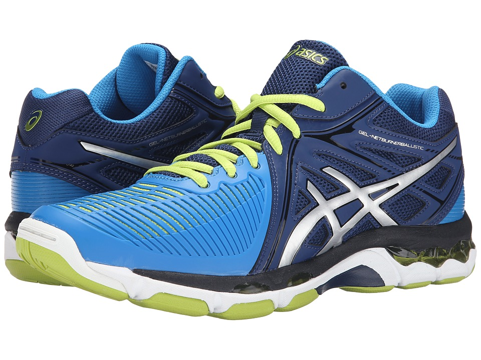 ASICS GEL-Netburner Ballistic MT (Navy/Silver/Electric Blue) Men