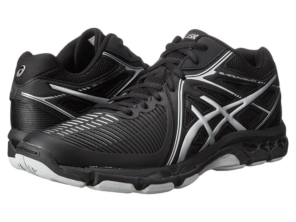ASICS - GEL-Netburner Ballistic MT (Black/Silver) Men's Volleyball Shoes