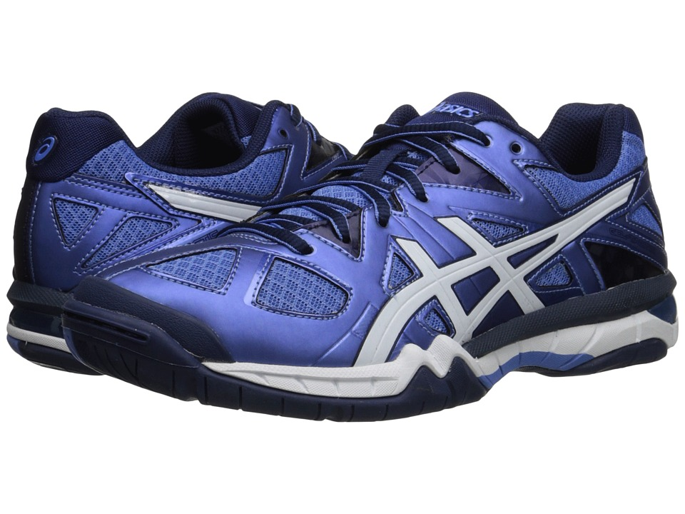 ASICS - GEL-Tactic (Powder Blue/White/Indigo Blue) Women's Volleyball Shoes