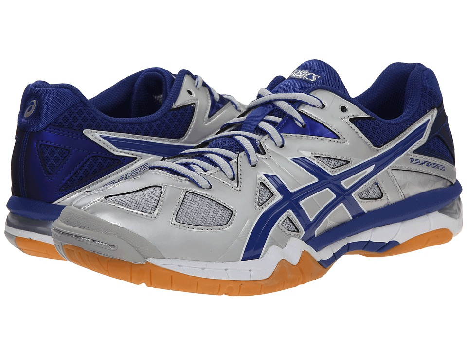 ASICS GEL-Tactic (Silver/Royal/White) Women