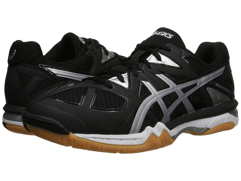 ASICS - GEL-Tactic (Black/Onyx/Silver) Men's Volleyball Shoes