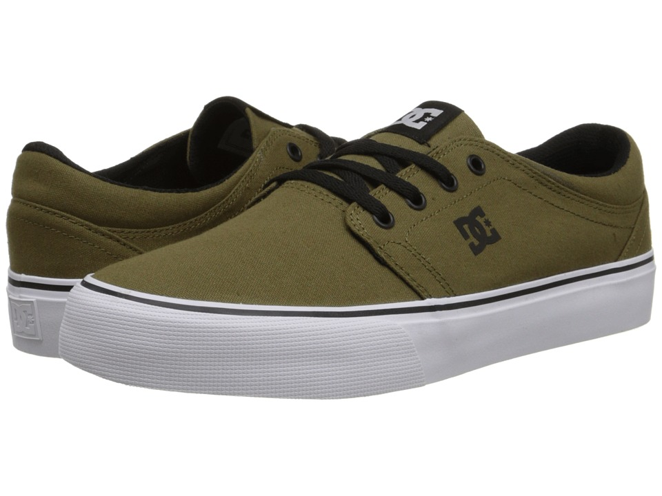 DC - Trase TX (Dark Olive) Skate Shoes