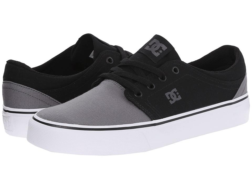 DC - Trase TX (Grey/Black/Grey) Skate Shoes