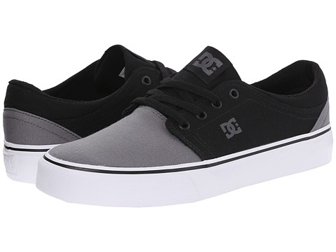 DC - Trase TX (Grey/Black/Grey) Skate Shoes