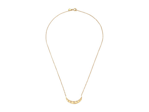 gorjana - Crescent Shimmer Necklace (Gold) Necklace