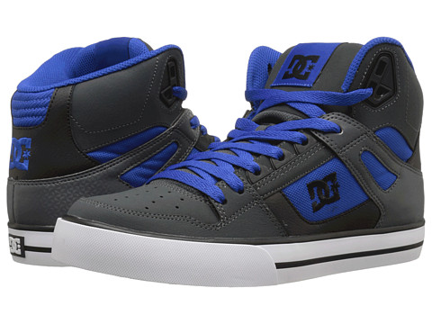 DC - Spartan Hi WC (Nautical Blue) Men's Skate Shoes