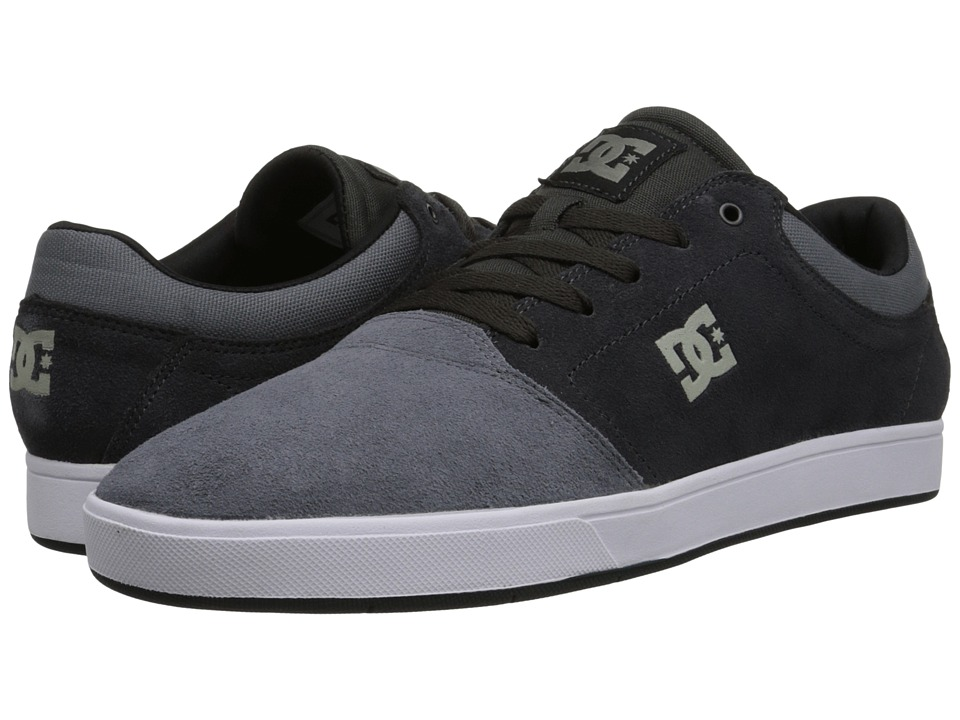 DC - Crisis (Charcoal Grey) Men's Skate Shoes