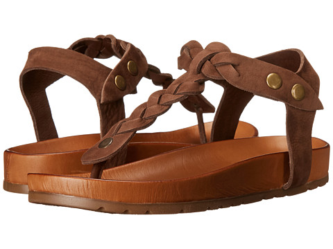 Miz Mooz - Jocelyn (Dark Brown) Women's Sandals