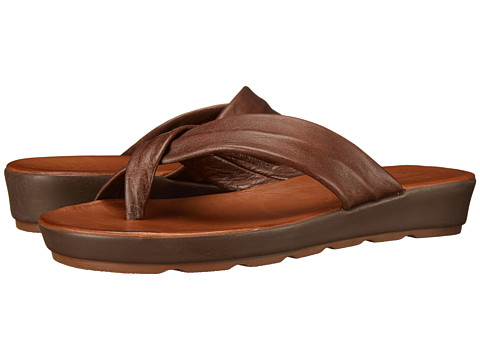 Miz Mooz - Kyla (Dark Brown) Women's Sandals