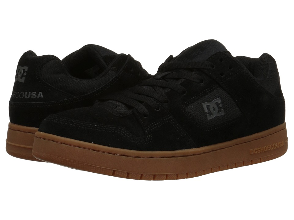 DC Manteca (Black/Black/Gum) Men