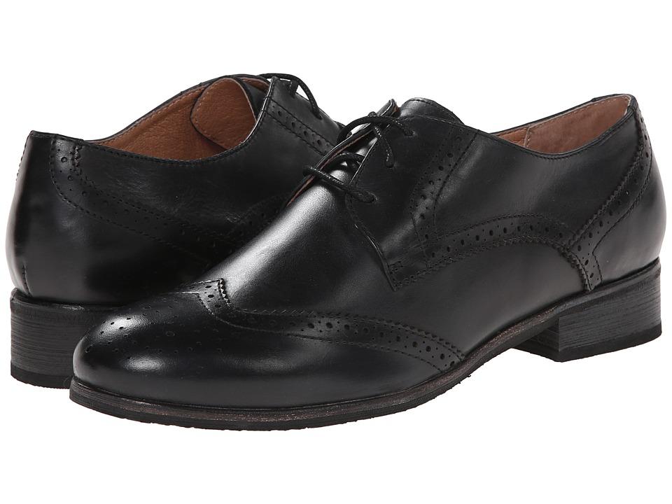 Miz Mooz - Brigitta (Black) Women's Dress Flat Shoes