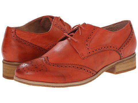 Miz Mooz - Brigitta (Coral) Women's Dress Flat Shoes