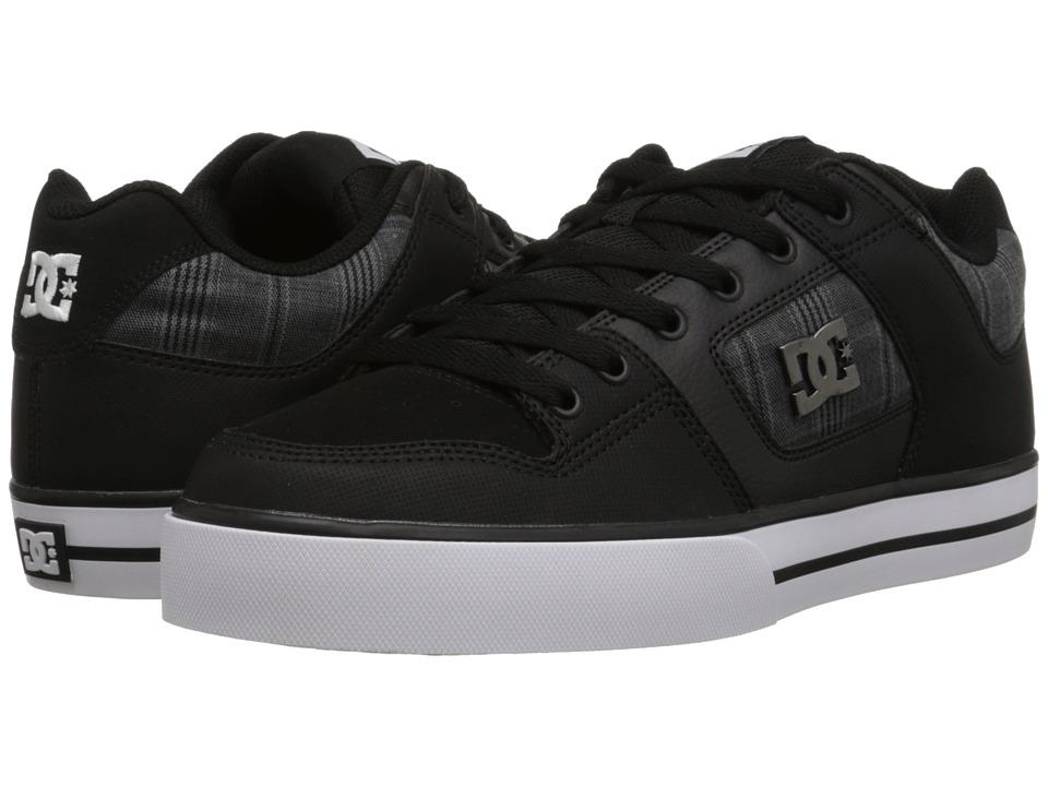 DC - Pure SE (Black) Men's Skate Shoes