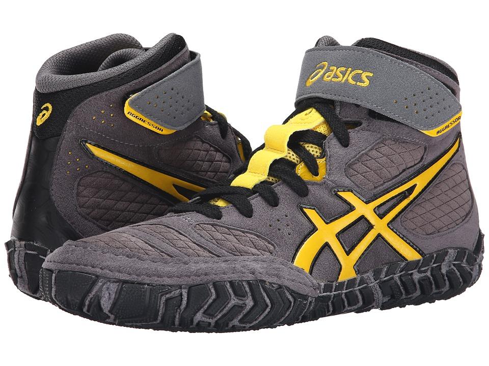 ASICS - Aggressor 2 (Graphite/Sunflower/Black) Men's Wrestling Shoes