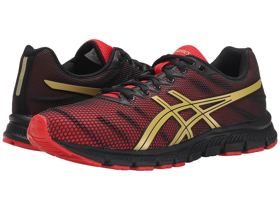 ASICS - JB Elite TR (Black/Oly Gold/Red) Men's Cross Training Shoes