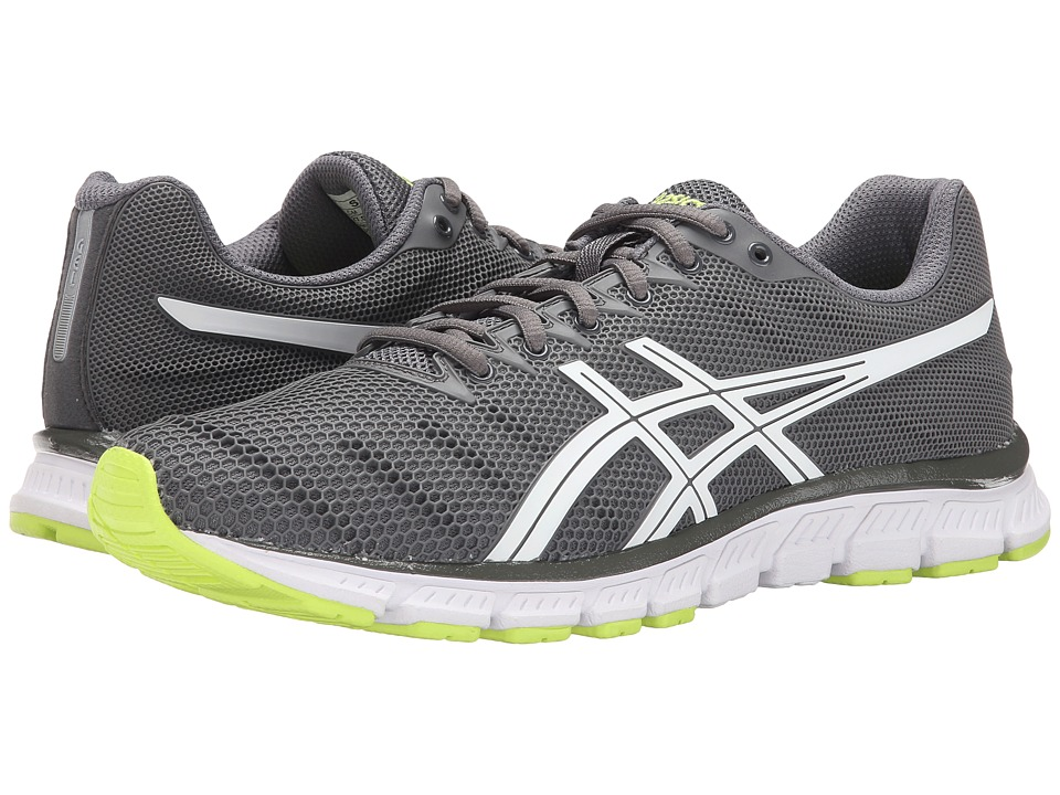 ASICS - JB Elite TR (Titanium/White/Safety Yellow) Men's Cross Training Shoes